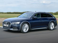 Audi A6 Allroad 2021 left tracking