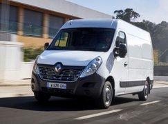 Renault Master ZE front