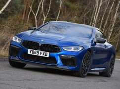 BMW M8 Competition Coupe front