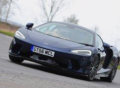 McLaren GT 2020 RHD front left tracking