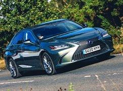 Lexus ES front - 20 plate