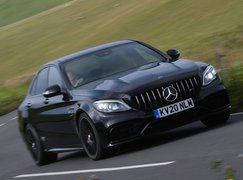 Mercedes C63 S 2020 front tracking