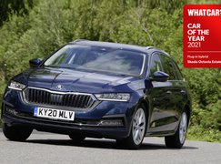 Skoda Octavia iV estate hybrid COTY