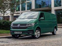 Volkswagen ABT eTransporter 6.1 driving