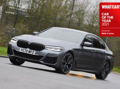 BMW 5 Series front - 2021 Luxury Car of the Year