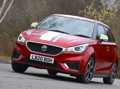 MG 3 2021 front cornering