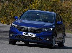 Dacia Sandero 2021 RHD front cornering
