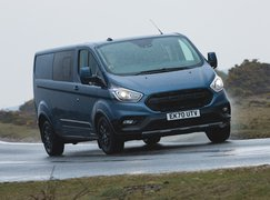 Ford Transit Custom Trail 2021 front right cornering
