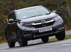 Honda CR-V 2021 front cornering