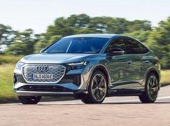 Audi Q4 Sportback e-tron 2021 front
