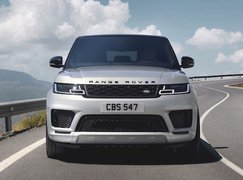Range Rover Sport 2021 front tracking
