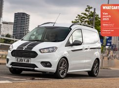 Ford Transit Courier with Van Awards logo