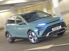 2021 Hyundai Bayon front urban cornering shot