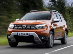 Dacia Duster 2021 front