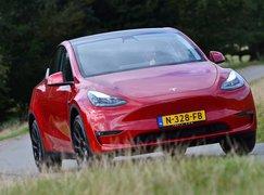 Tesla Model Y 2021 front cornering