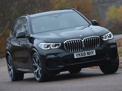 BMW X5 front driving