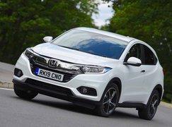 Honda HR-V 2019 left front motion shot