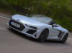 Audi R8 Spyder 2019 front tracking