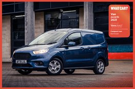 Best compact van 2021: Ford Transit Courier