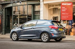 Best compact van to drive - Ford Fiesta Van