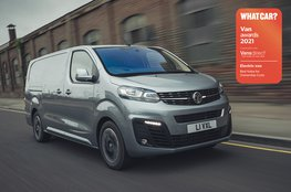 Best electric van for ownership costs - Vauxhall Vivaro-e