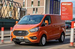 Best electric van for practicality - Ford Transit Custom PHEV