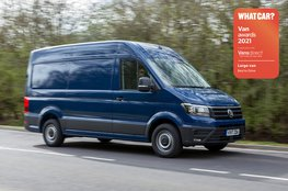 Best large van to drive - Volkswagen Crafter