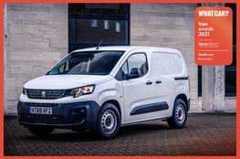 Best small van 2021: Peugeot Partner
