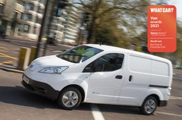 Best small van for ownership costs - Nissan eNV200