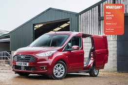 Best small van to drive - Ford Transit Connect