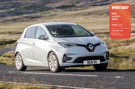 Best compact van for ownership costs - Renault Zoe Van