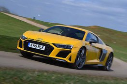 Best sports car for big spenders - Audi R8