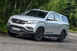 Best pick-up for payload - Ssangyong Musso
