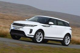 Best family SUV interior - Range Rover Evoque