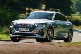 Best coupe SUV for comfort - Audi E-tron Sportback