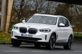 Best large electric SUV - BMW iX3