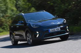 Best small electric car for long distances - Kia e-Niro