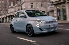 Best small electric car for the city - Fiat 500