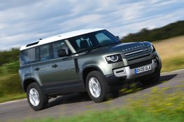 st large SUV for off-roading - Land Rover Discovery