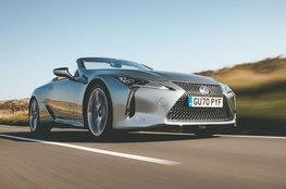 Best convertible for big spenders - Lexus LC Convertible