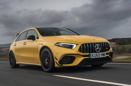 Best hot hatch for big spenders - Mercedes-AMG A45