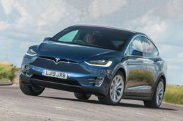 Best large electric car for big families - Tesla Model X