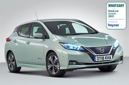 Used Electric Car of the Year 2021 - Nissan Leaf