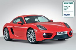 Used Sports Car of the Year 2021 - Porsche Cayman