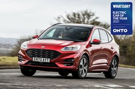 Electric Car of the Year Awards 2021 - Ford Kuga PHEV with badge