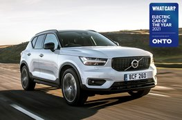 Electric Car of the Year Awards 2021 - Volvo XC40 T4 with badge