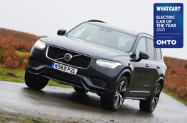 Electric Car of the Year Awards 2021 - Volvo XC90 T8 with badge