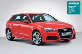 Used Car of the Year 2022 - Audi A3 with badge