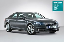 Used Car of the Year 2022 - Audi A4 with badge