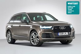 Used Car of the Year 2022 - Audi Q7 with badge